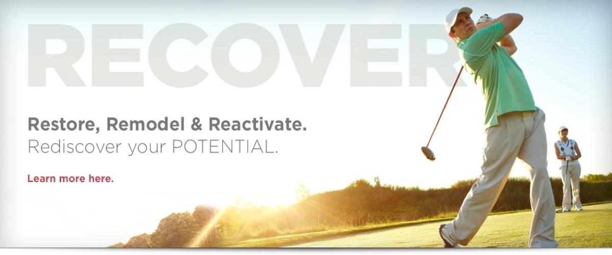 Restore, Remodel & Reactivate